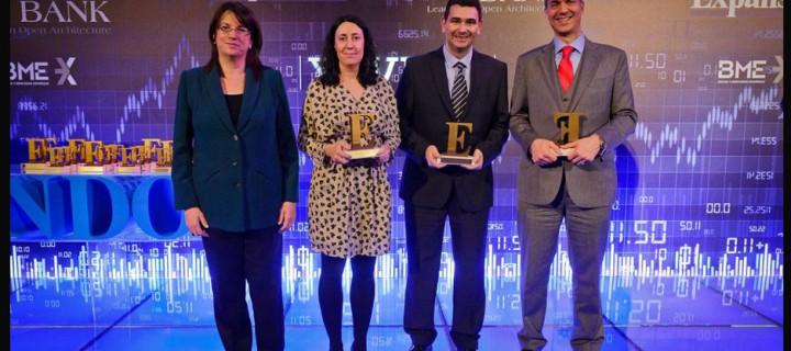 Self Bank ganador de la Mejor cartera de valores 2014