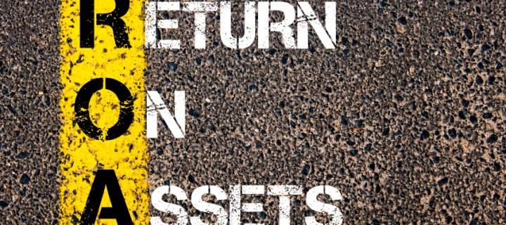ROA, la rentabilidad de los activos de la empresa