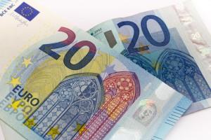 billetes nuevos y antiguos 20 euros