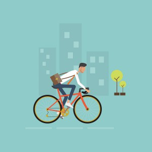 bicicleta ahorro transporte