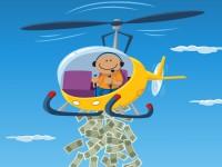 Helicóptero del dinero