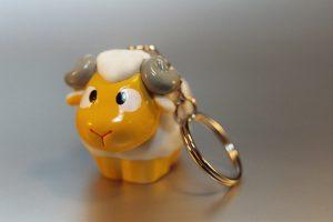 Animals: Keyring-sheep II