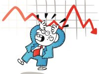 Dura corrección del IBEX que sufre para aguantar los 9.900