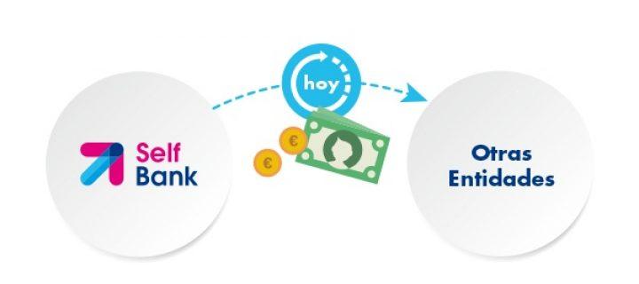 Lo que son ahora las transferencias bancarias.