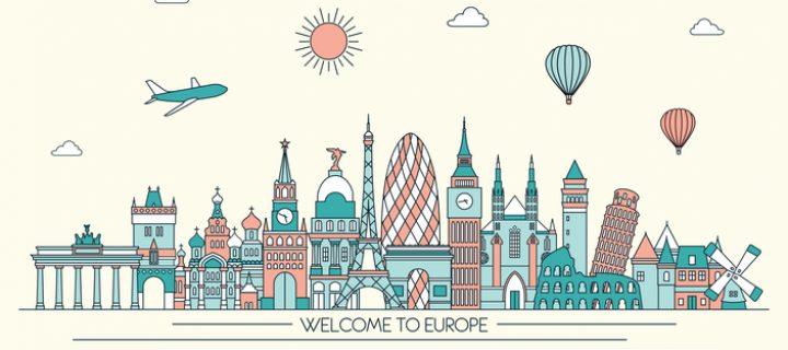 Viajando por Europa con un presupuesto low cost
