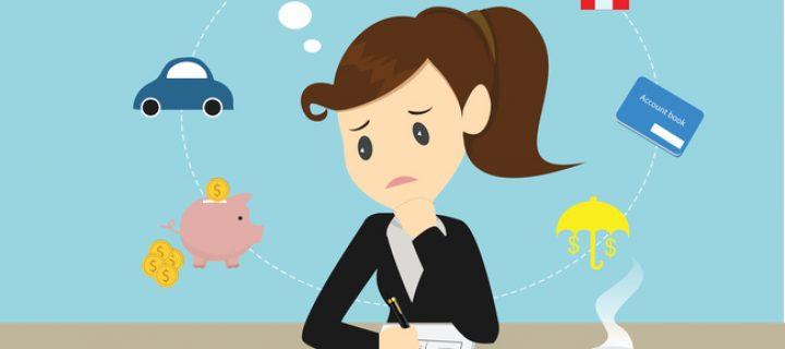 Errores en las finanzas personales: endeudarse en exceso