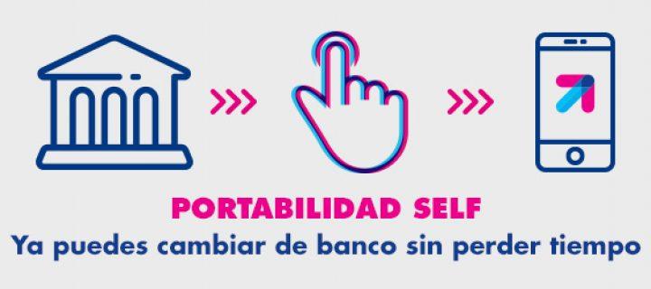Lanzamos Portabilidad Self, el servicio para migrar tu cuenta bancaria