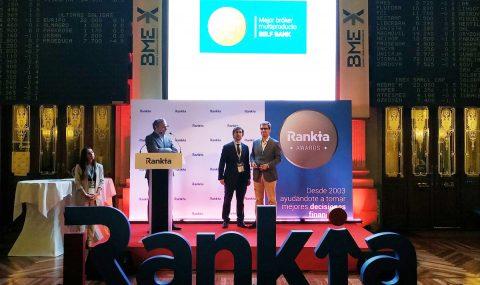 Self Bank, elegido 'Mejor broker multiproducto 2018' por Rankia