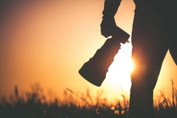 la fotografía y bolsa