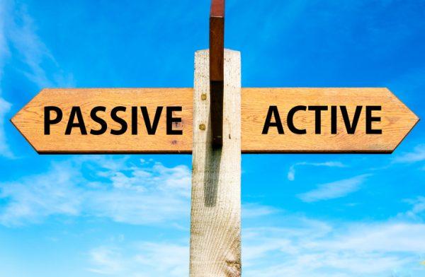 gestión activa gestión pasiva