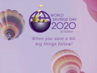 Cuando ahorras un poco, suceden grandes cosas. 31 de octubre: día mundial del ahorro 2020