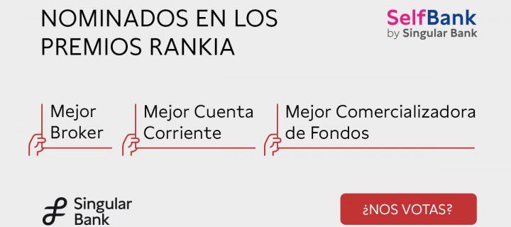 Arranca la votación premios Rankia 2021